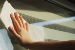 52249867 - glass window cleaning in spring