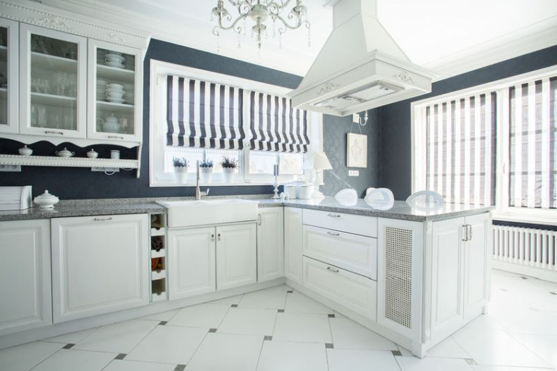 33756251 - photo of new luxury stylish kitchen